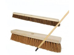 "600mm, 24"" Platform Broom - Stiff/Soft Bristles With 1400mm Handle (1x1)"