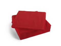 4 Fold Red 2ply Napkins (2000)