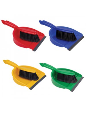 Professional Dustpan & Brush Set - (1x1)