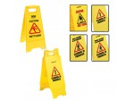 Economy Dual Message Plastic Safety Sign